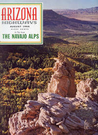 ARIZONA HIGHWAYS : THE NAVAJO ALPS : August 1966, Volume XLII (42), No 8 by  Raymond (Editor) Carlson - Paperback - Volume XLII (42), No 8, August 1966 - 1966 - from 100 POCKETS and Biblio.com