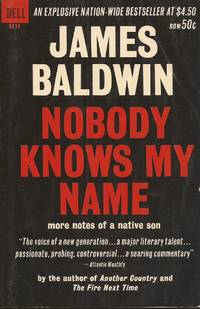 image of Nobody Knows My Name; More Notes of a Native Son