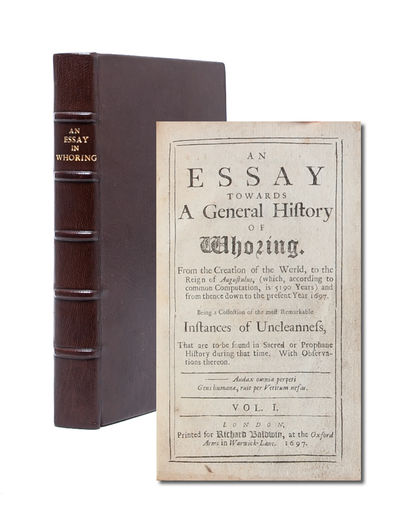 An Essay Towards a General History of...