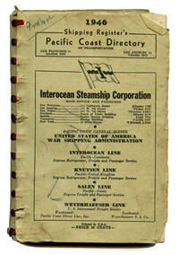 1946 Shipping Register's Pacific Coast Directory