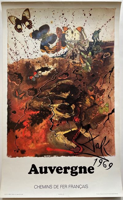 SNCF, 1970. Offset lithograph. Measures 24 5/8