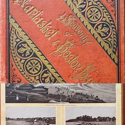 Portland, Maine: Leighton & Frey Souvenir View Co, 1885. Cloth. Very good. 16mo square (5 15/16