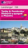 image of Tenby and Pembroke (Landranger Maps)