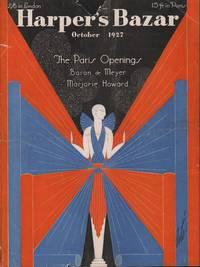 image of Harper's Bazar (Harper's Bazaar) October, 1927 - Cover Only