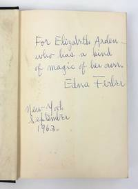 """A Kind of Magic"" - Inscribed to Elizabeth Arden, with a Typed Note Signed"