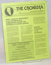 The Cronista of Arizona and Sonora: todas las noticias que ameriten publicarse; vol. 3, #2, Fall, 1989