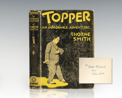 New York: Robert M. McBride & Company, 1926. First edition of Thorne Smith's best known work, adapte...