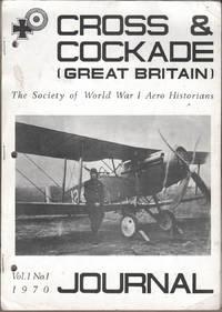 Cross & Cockade (Great Britain) Journal Vol 1 No 1