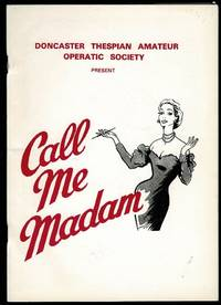 image of Call Me Madam: Civic Theatre Doncaster Programme