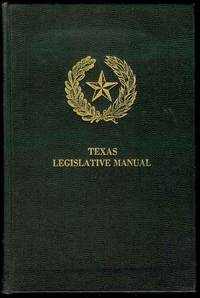 Texas Legislative Manual by  Jr. (Editor) Merrill W. Tinkler - Hardcover - 1964 - from Bookmarc's (SKU: EC28500BB)