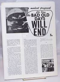 image of A modest proposal for how the bad old days will end
