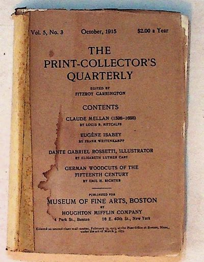 Boston: Houghton Mifflin Company, 1915. Paperback. Very Good. Paperback. Very good in faded cream wr...