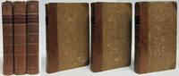LA LOGIQUE SUIVIE DE L'ART DE RAISONNER. ÉDITION AUGMENTÉE DES ARTICLES,  EXTRAITS DES AUTRES OUVRAGES DE CONDILLAC, DONT LES SUJETS SONT INDIQUÉS  PAR LUI-MÊME POUR COMPLÉMENT DE SA LOGIQUE 3 Volumes