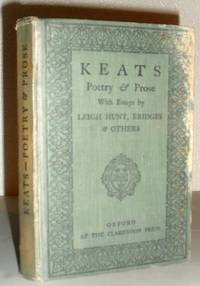Keats - Poetry & Prose, with Essays