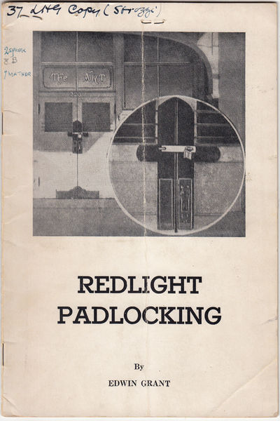 Redlight Padlocking (SIGNED)