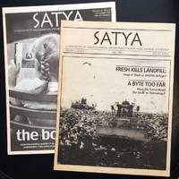 Satya: a magazine of vegetarianism, environmentalism, and animal advocacy [two issues]