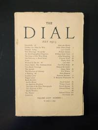 The Dial, July 1923 Volume LXXV Number 1