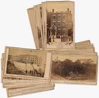 MESSERS. LEVY & COHEN HAVE RETURNED WITH THEIR GLOBE LENS FROM A TRIP TO THE REBEL CAPITAL. Collection of 15 different rare CDV photographs: Views of the Rebel Capital and its Environs