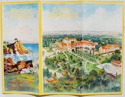 Del Monte, CA:: Del Monte Properties Company,, circa 1927. Paperback. Very Good. William H. Bull (18...