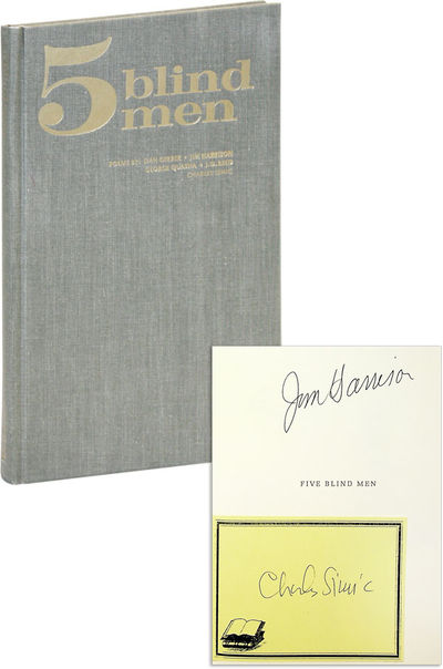 Fremont, MI: Sumac Press, 1969. First Edition. Hardcover. Limited Issue, one of 100 clothbound copie...