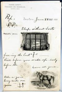Tongue-in-cheek manuscript rebus