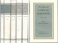 THE LETTERS OF SAMUEL JOHNSON. Five Volumes. The Hyde Edition