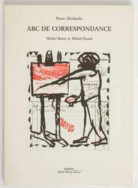 ABC de correspondance. Michel Butor et Michel Sicard.