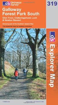 image of Galloway Forest Park South (OS Explorer Map Series) (OS Explorer Map Active)