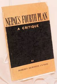 image of Nepal's fourth plan; a critique