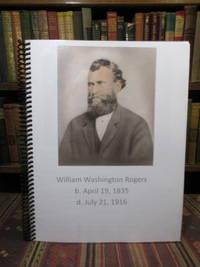 William Washington Rogers.  b. April 19, 1835 / d. July 21, 1916  (Rolesville, Wake County, North Carolina)