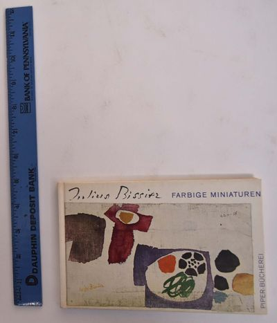 München: R. Piper, 1960. Hardcover. VG- (tanning to pages inside front and back covers, interior is...