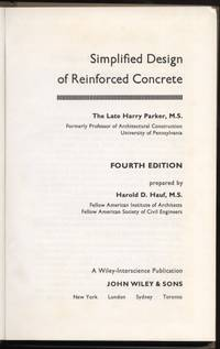 image of Simplified Design of Reinforced Concrete