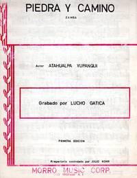 Piedra y Camino - Zamba [PIANO SOLO SCORE]