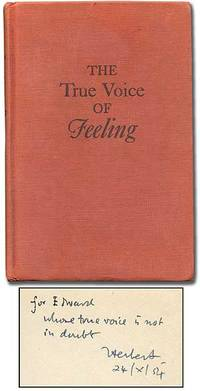 image of The True Voice of Feeling: Studies in English Romantic Poetry