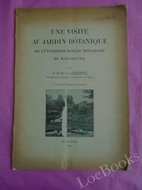 UNE VISITE AU JARDIN BOTANIQUE DE L'UNIVERSITÉ ROYALE HONGROISE DE KOLOZSVAR