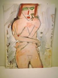 Steven Jesse Bernstein, Archive of 12 Signed Artworks (Paintings, Prints), Punk & Grunge Poet, Performance Artist, Seattle by Bernstein, Steven Jesse - 1984