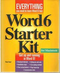 Image for WORD 6 STARTER KIT FOR MANINTOSH Book and Disk