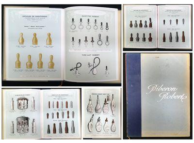 Paris: Etablissements Bacholet, c1910. Fading on cover. Else fine.. 16 (unnumbered) pp. Large format...