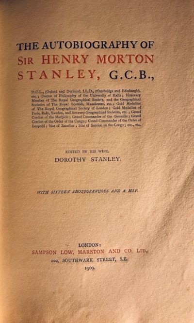 The autobiography of sir Henry Morton...