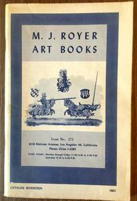 M.J. ROYER ART BOOKS, ITEM NO. 372, CATALOG 17