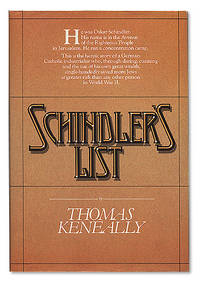 Schindler's List by KENEALLY, Thomas - 1982.