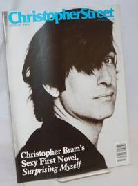Christopher Street: vol. 10, #2, whole issue #110, April 1987; Christopher Bram\'s Sexy First Novel