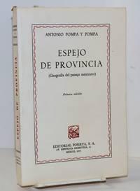 image of Espejo de Provincia (geografía del paisaje mexicano)