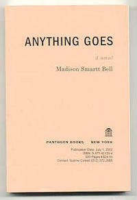 NY: Pantheon, 2002. Uncorrected bound galleys for the first edition. Printed perfect-bound wraps.Sig...
