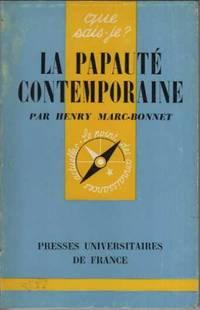 La papaute contemporaine