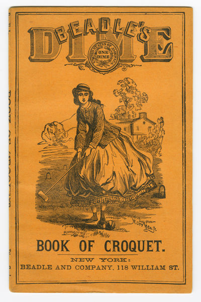 New York: Beadle and Adams, 1885. ,28pp., including diagrams and a scorecard. Frontis. Original pict...