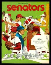 image of WASHINGTON SENATORS - Official 1971 Program and Scorecard - Souvenir Edition