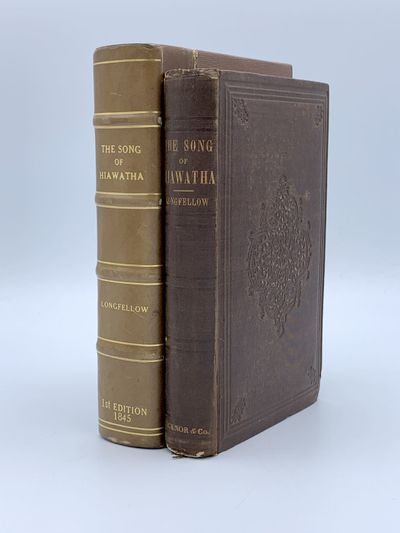 Boston: Ticknor and Fields, 1855. Some wear at ends of spine and corners, very bright internally, a ...