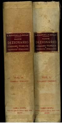 Nuovo Dizionario Tedesco-Italiano. Neues Deutsch-Italienisches Worterbuch. Nuova edizione stereotipata. Vol. I e II°.