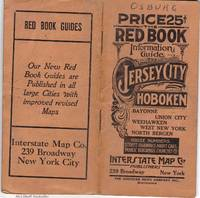 THE RED BOOK INFORMATION AND STREET GUIDE OF JERSEY CITY, HOBOKEN, UNION  CITY WITH NEW INDEXED MAP